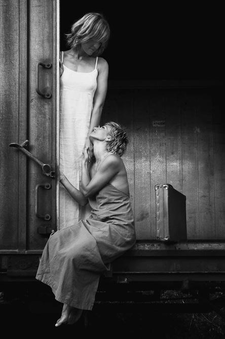 Viaggio interiore, Ritratti, Fine art, treno