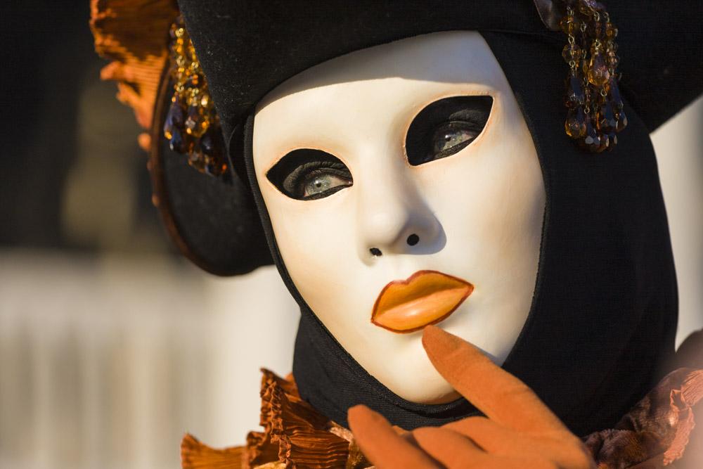 Ritratti, Carnevale Venezia, maschera