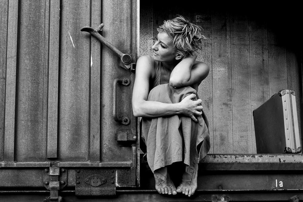 Viaggio interiore, Ritratti, treno