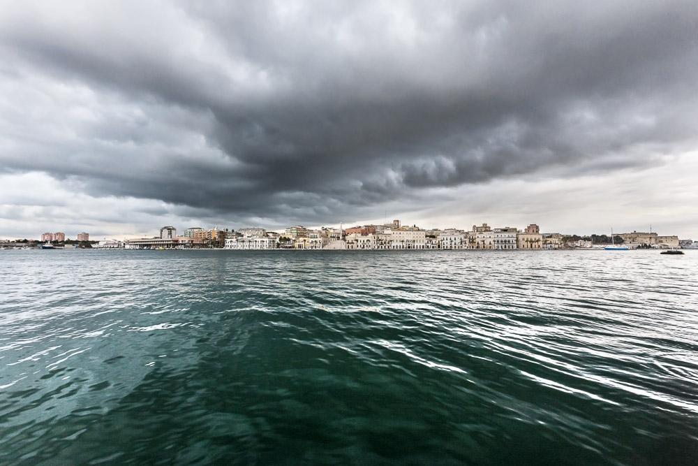 Mare, paesaggio, porto, harbour, port, Brindisi
