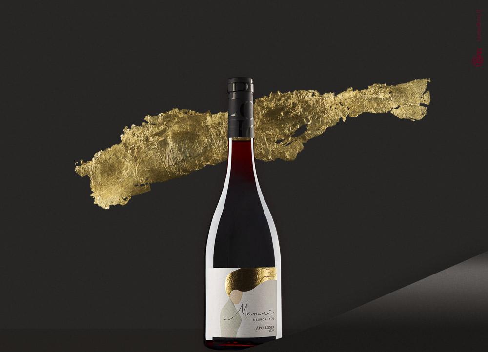 Still life bottiglia vino